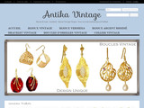 Antika Vintage-Bijou Luxe Authentique Joaillerie