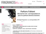 parfums de luxe, parfums fabiani